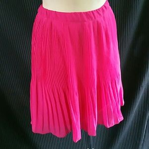 OLD NAVY pink pleated skirt